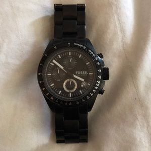 Fossil Men's CH2601 Stainless Steel Black Watch